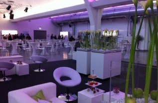 Eventlocation Shedhalle Loungestil