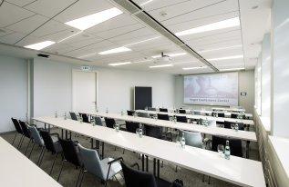 Konferenzraum Siebold Parlamentarische Bestuhlung