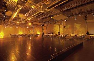 Rotationshalle Galaveranstaltung