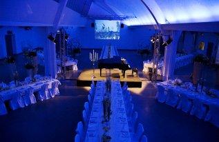 Galaveranstaltung Shedhalle Konzert Flügel