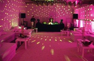 DJ Pult Shedhalle