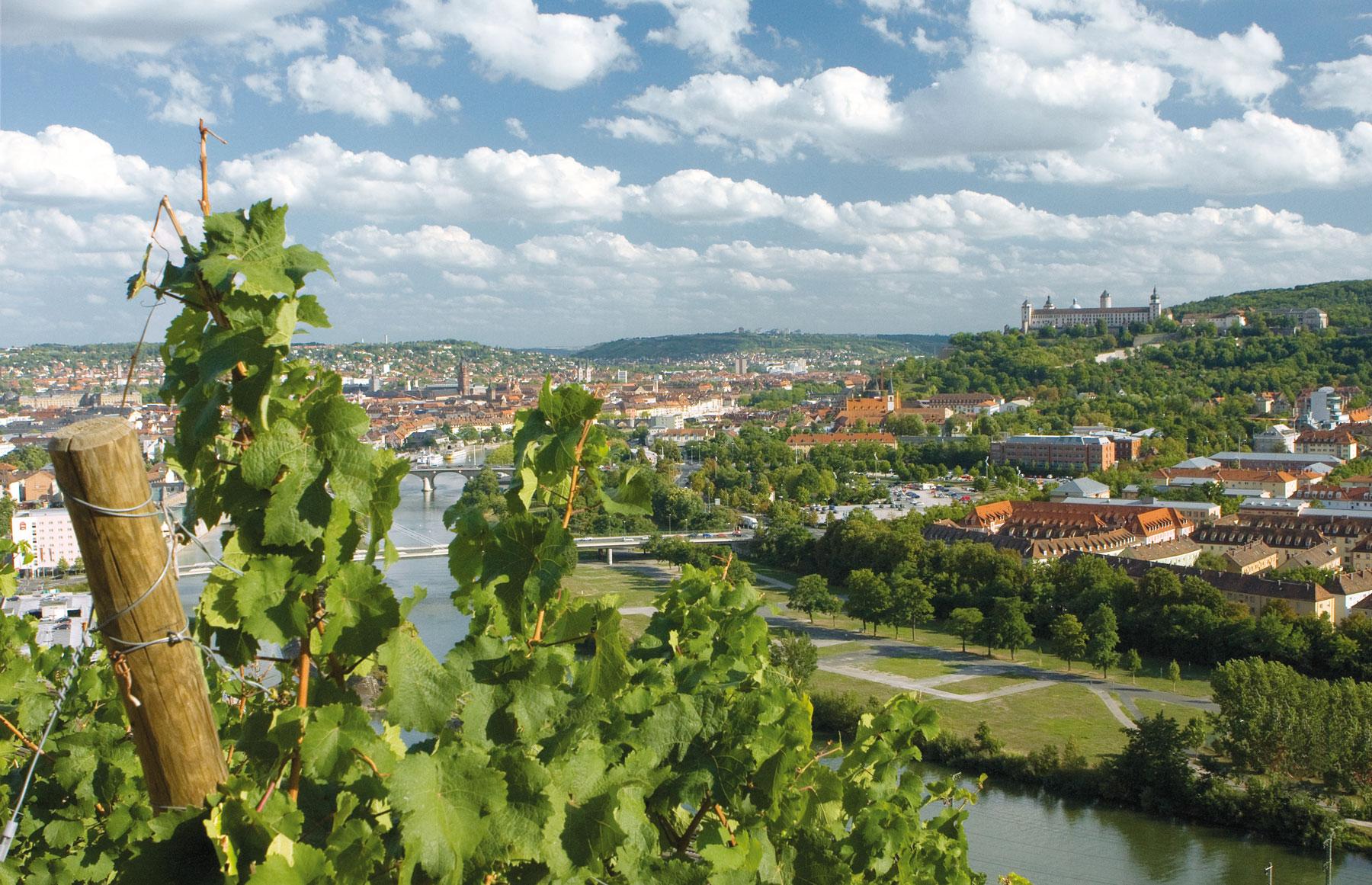 Wuerzburg Landschaftsbild